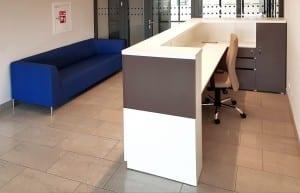 Priimamojo baldai CUBO ir minkštasuolis CALISTO