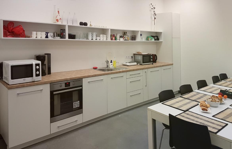 Virtuvė įmonės administracijai tekstilės įmonėje